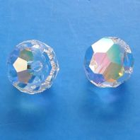 Crystal AB 5000 Swarovski Crystal Round Beads 4mm PK10